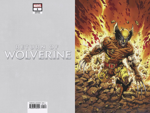 Return of Wolverine #1 (Mcniven Brown & Tan Costume Cover)