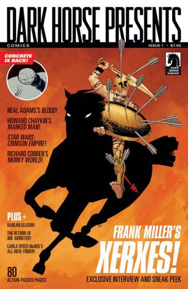 Dark Horse Presents #1 (Frank Miller Cover)