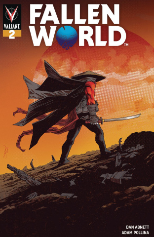 Fallen World #2 (Shalvey Cover)