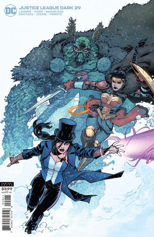 Justice League Dark #29 (Gleb Melnikov Cover)
