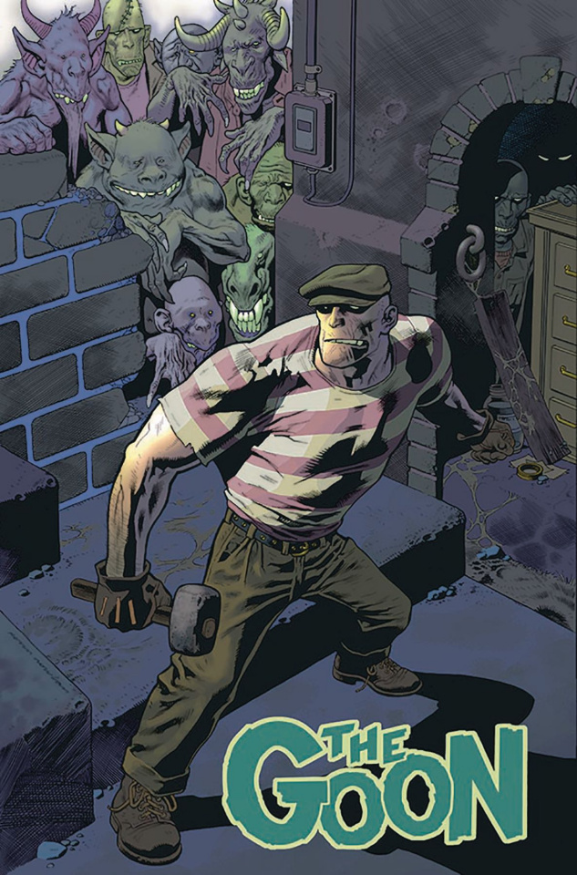 The Goon #1 (Kevin Nowlan Cardstock Cover)