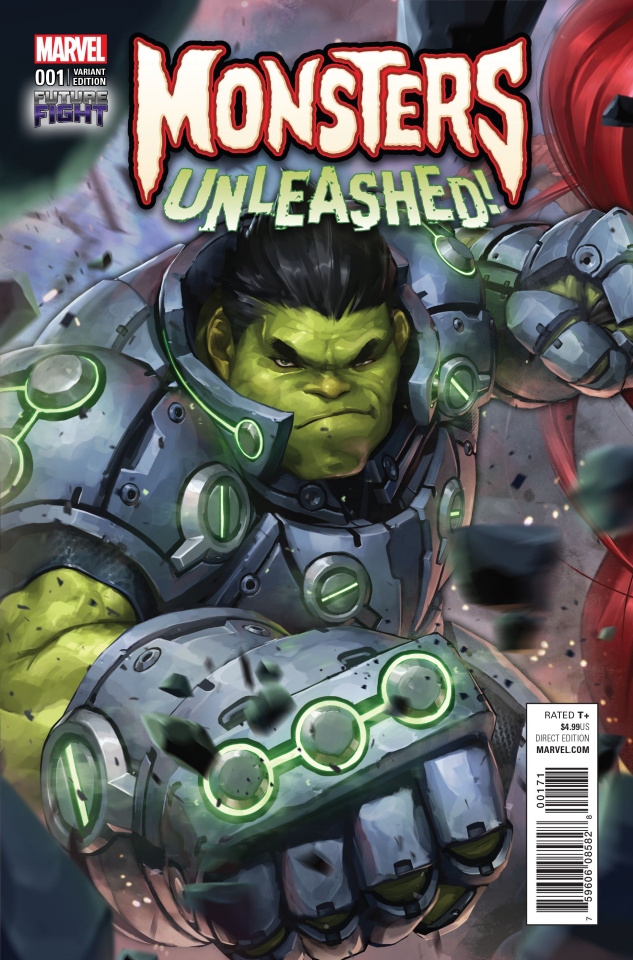 Monsters Unleashed! #1 (Lee Video Game Cover)