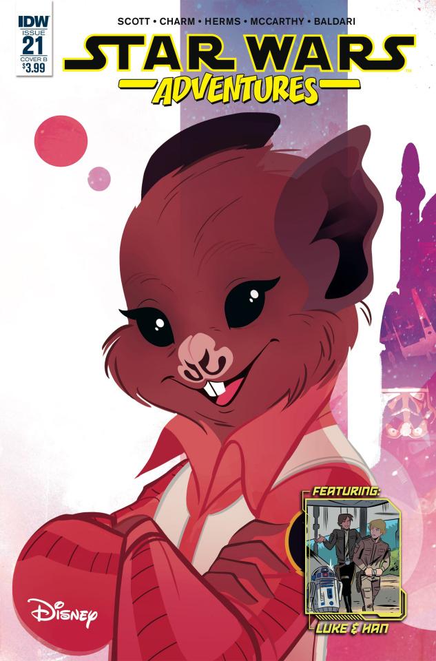 Star Wars Adventures #21 (Baldari Cover)