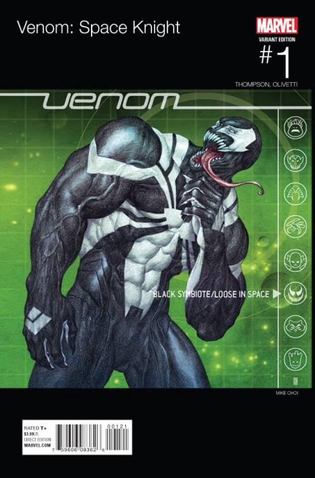 Venom: Space Knight #1 (Choi Hip Hop Cover)