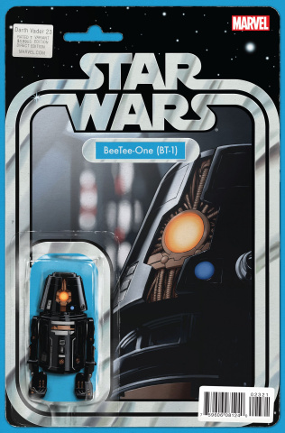 Darth Vader #23 (Christopher Action Figure Cover)
