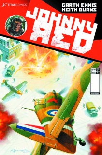 Johnny Red #2 (Subscription Kennedy Cover)
