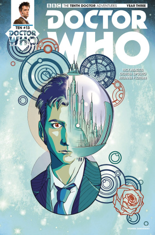 Doctor Who: The Tenth Doctor Adventures, Year Three #13 (Zanfardino Cover)
