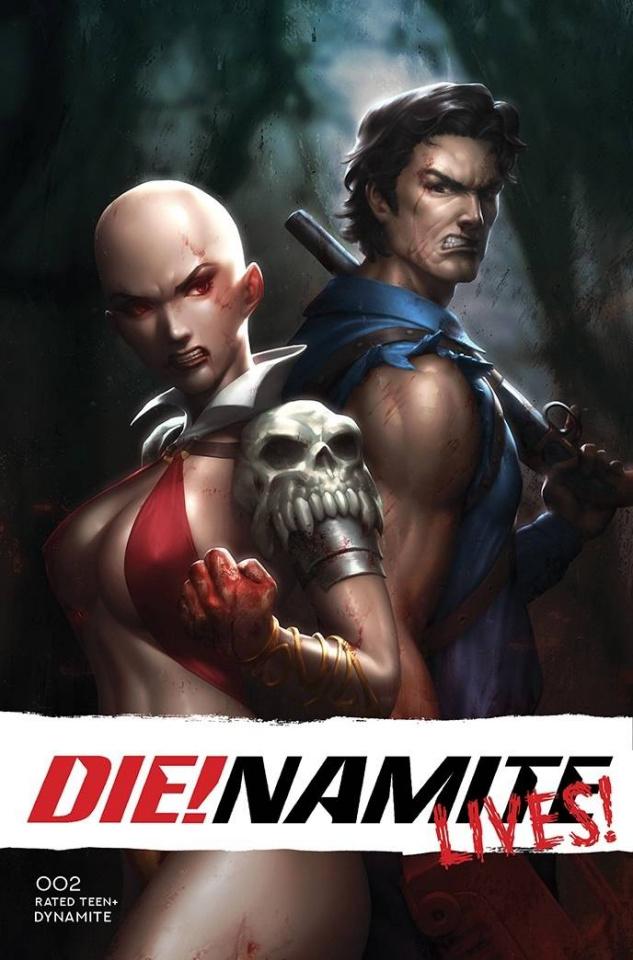 DIE!namite Lives! #2 (Bonus Lim Cover)