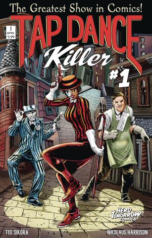 Tap Dance Killer #1 (Variant Cover)