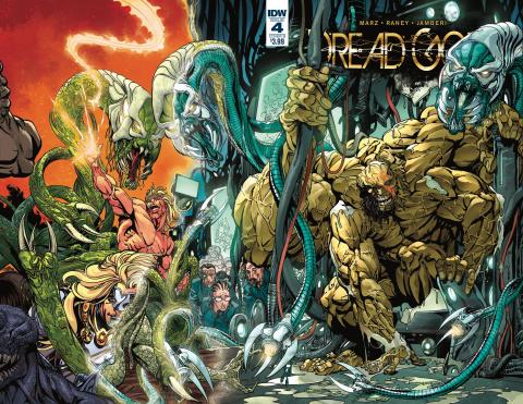 Dread Gods #4 (Sears Cover)