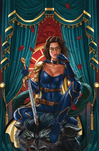 Belle: Beast Hunter #4 (Burgos Cover)
