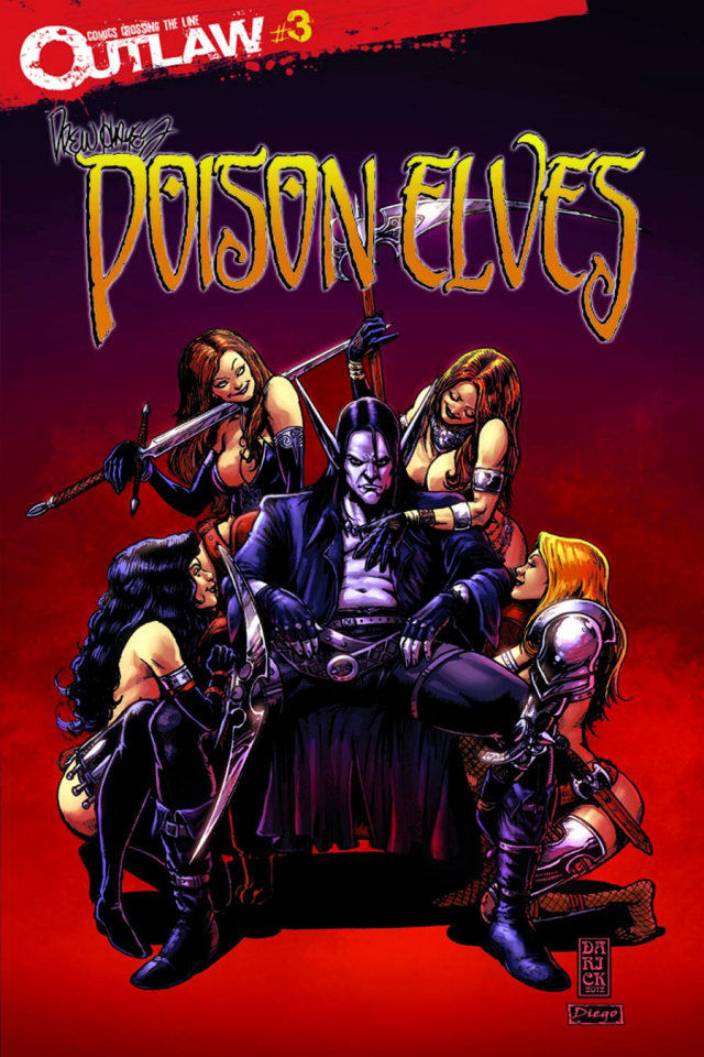 Poison Elves #3 (Robertson Cover)
