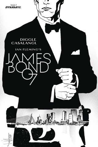 James Bond: Kill Chain #1 (20 Copy B&W Cover)