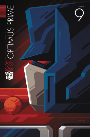 Optimus Prime #9 (Whalen Cover)