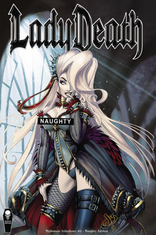 Lady Death: Nightmare Symphony #2 (Naughty Cover)