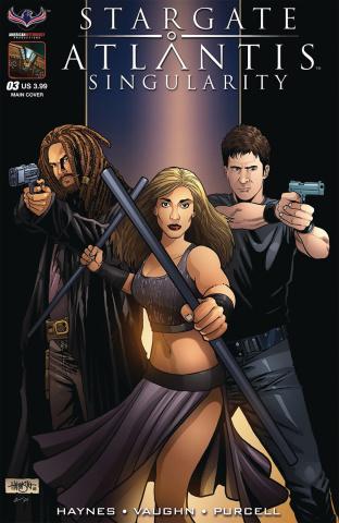 Stargate Atlantis: Singularity #3 (Hilinski Cover)