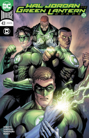 Hal Jordan and The Green Lantern Corps #43 (Variant Cover)