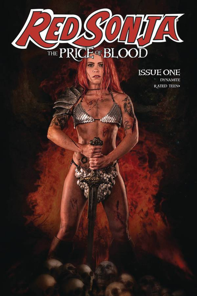 Red Sonja: The Price of Blood #1 (Ray Cosplay Cover)