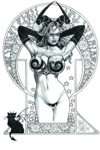 Tarot: Witch of the Black Rose #68