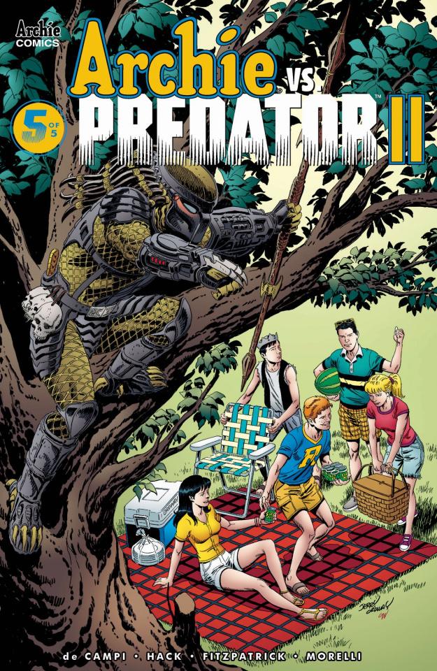Archie vs. Predator II #5 (Ordway Cover)