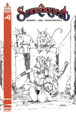Swordquest #4 (10 Copy Perez Cover)
