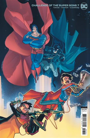 Challenge of the Super Sons #7 (Riley Rossmo Card Stock Cover)