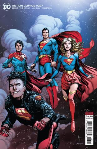Action Comics #1027 (Gary Frank Card Stock Cover)