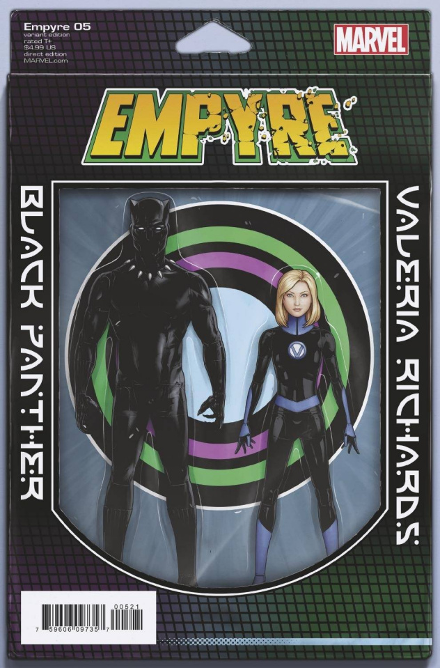 Empyre #5 (Christopher 2-Pack Action Figure Cover)