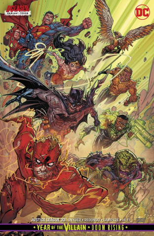 Justice League #33 (Card Stock Cover)