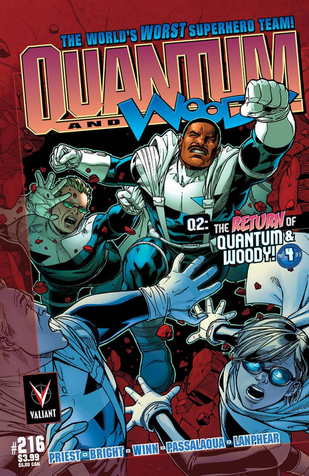 Q2: The Return of Quantum & Woody #4 (25 Copy Chen Cover)