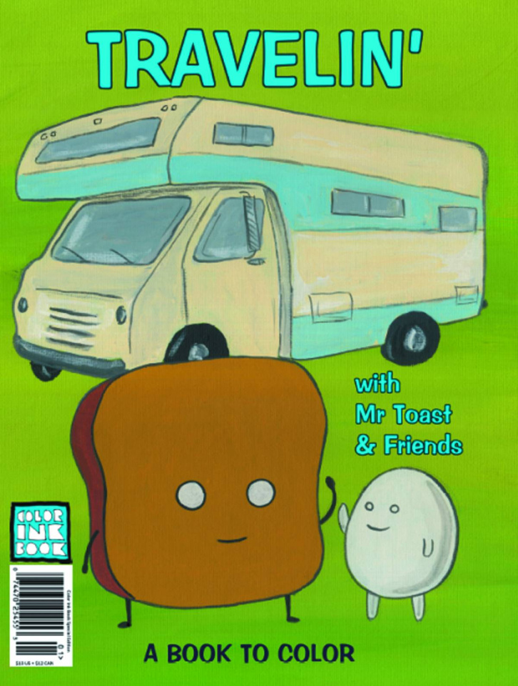 Travelin' with Mr Toast & Friends
