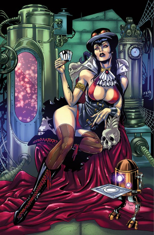 Vampiverse #1 (Sanapo Virgin Cover)