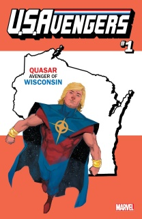 U.S.Avengers #1 (Reis Wisconsin State Cover)