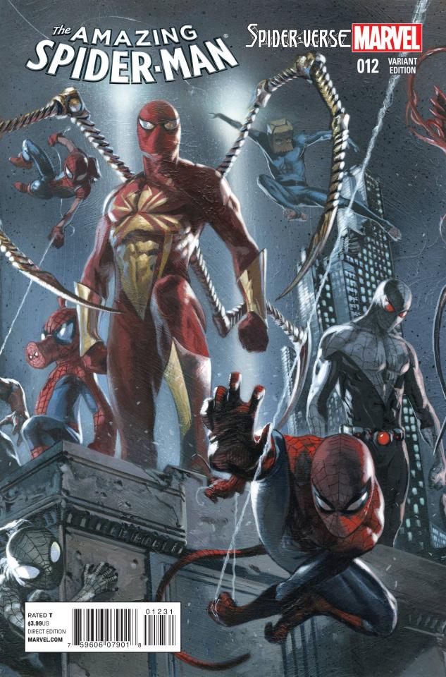 The Amazing Spider-Man #12 (Dell'otto Cover)