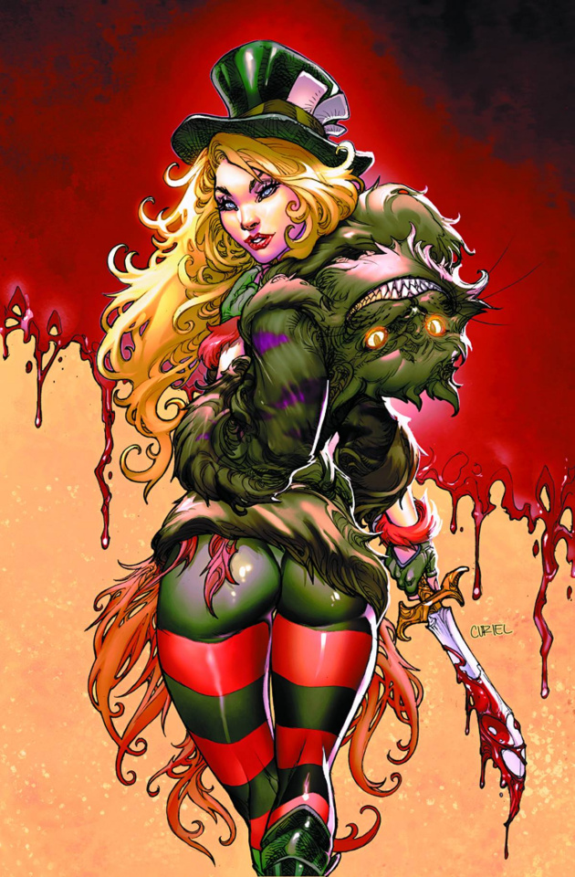 Grimm Fairy Tales: Wonderland #19 (Pantalena Cover)