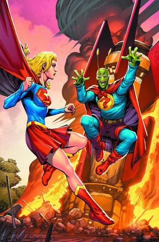 Convergence: Supergirl - Matrix #2