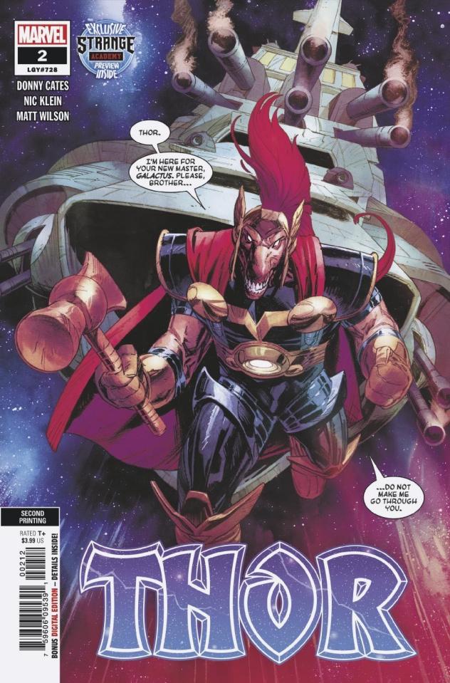Thor #2 (Klein 2nd Printing)