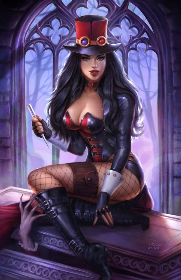 Van Helsing #50 (Khamunaki Cover)