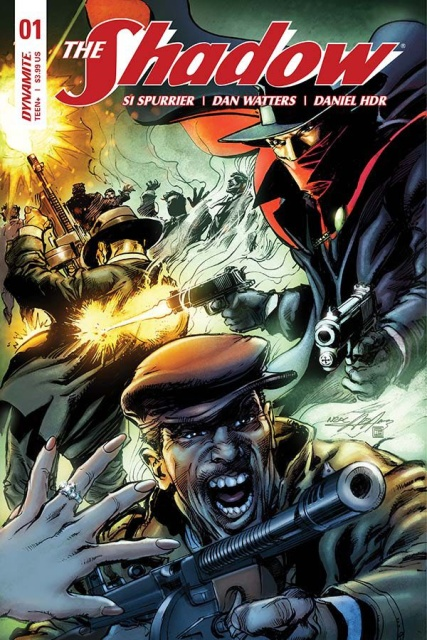 The Shadow #1 (Adams Cover)