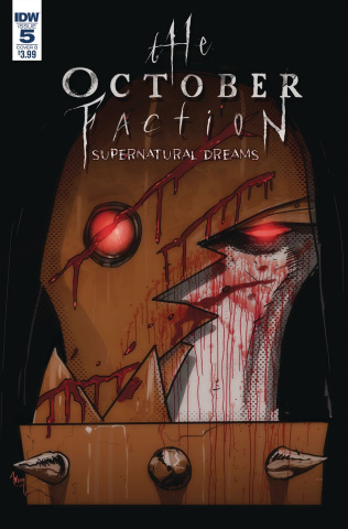 The October Faction: Supernatural Dreams #5 (Worm Cover)