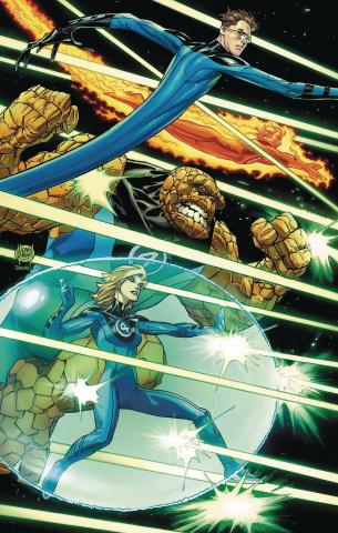 Astonishing X-Men #14 (Kubert Return of Fantastic Four Cover)