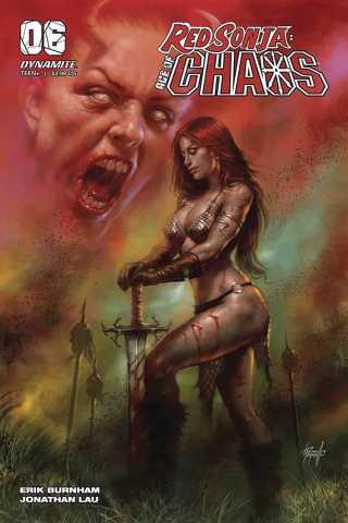 Red Sonja: Age of Chaos #6 (Parrillo Cover)