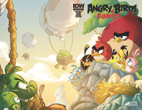 Angry Birds Comics #9 (Subscription Cover)