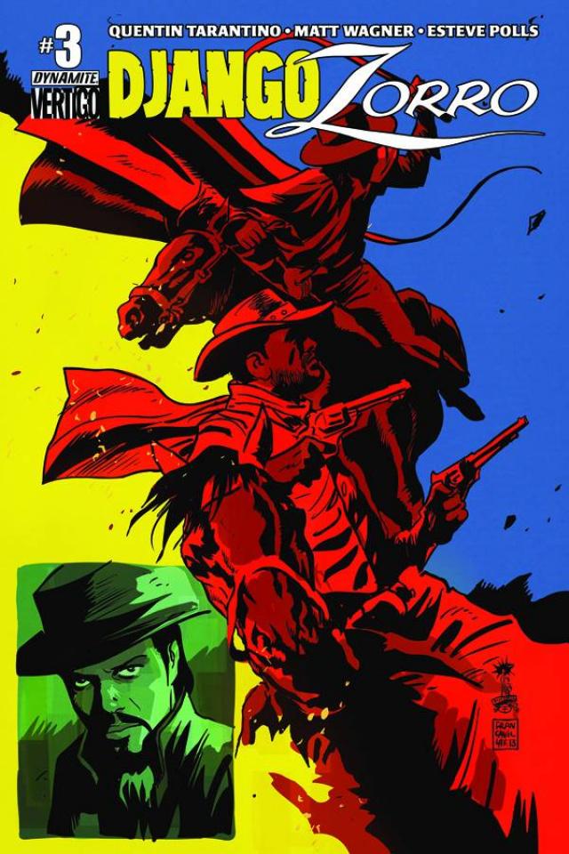 Django / Zorro #3 (Francavilla Cover)