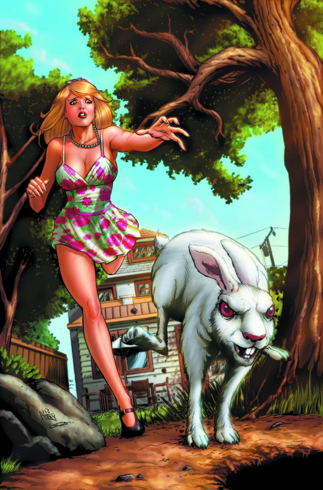 Grimm Fairy Tales: Wonderland - Down the Rabbit Hole #1 (Spay Cover)