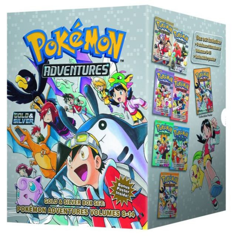Pokémon Adventures Box Set Vol. 2