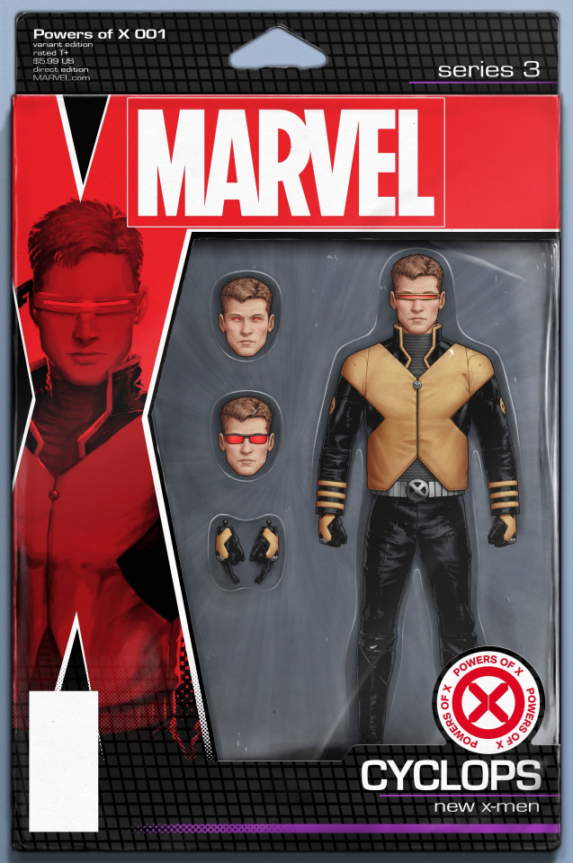 Powers of X #1 (Christopher Action Figure Cover)