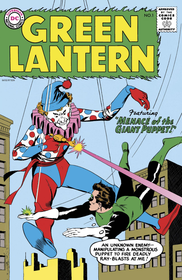 Green Lantern #1 (Facsimile Edition)