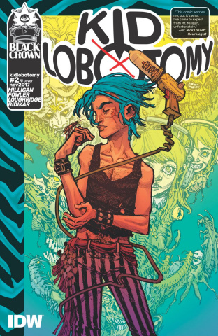 Kid Lobotomy #2 (10 Copy Cover)