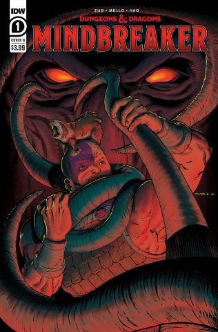 Dungeons & Dragons: Mindbreaker #1 (Max Davenport Cover)